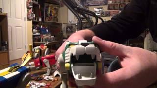 2012 Mattel Voltron Toy Review