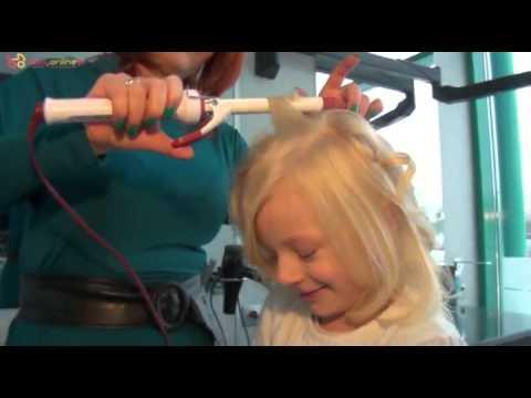 Jak Zrobić Loczki Fryzura Dla Dziewczynki Youtube