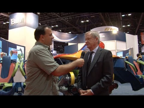 IAAPA 2012 Trade Show Coverage Part 2 - B&M, ProSlide, Martin & Vleminckx