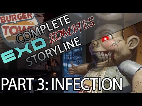 Entire Exo Zombies Storyline | Part 3 Infection | Complete Exo Zombies Storyline