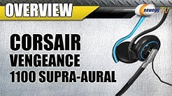 Newegg TV: Corsair Vengeance 1100 Supra-aural Communication Headset Overview