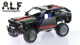 Lego Technic 8081 Extreme Cruiser - Lego Speed Build Review