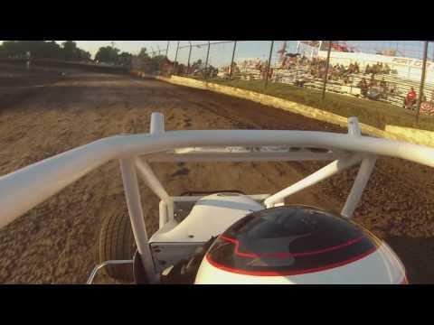 Preston Scheulen Racing 07-22-16 heat race Port City Raceway Tulsa OK Junior Micro Sprint