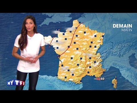La premi re m t o de tatiana silva la nouvelle pr sentatrice tf1 youtube - Nouvelle presentatrice meteo tf1 ...