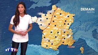 La première météo de Tatiana Silva, la nouvelle présentatrice TF1