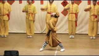 Shaolin Qigong Demonstration- Shi Xing Wu - Master Yuan Chinatown Vancouver
