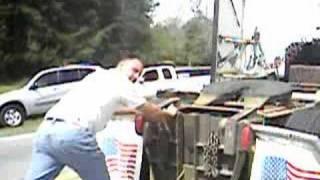 crazy alabama trucker