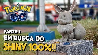 MEWTWO E COMPETIÇÃO DE SHINY NA CAPITAL DO POKÉMON GO! | Parte 1