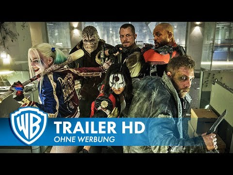SUICIDE SQUAD - Blitztrailer Deutsch HD German (2016)