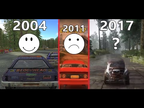 History/Evolution Of FlatOut (2004-2017) Graphics, Sounds \u0026 Physics COMPARISON | From FlatOut 1 To 4
