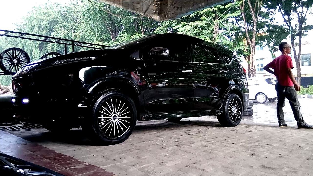 Velg Modifikasi All New Avanza, Modifikasi New Mitsubishi Expander Ganti Velg Naik 2 Tingkat Dari Standar Vip_autostyle, Velg Modifikasi All New Avanza