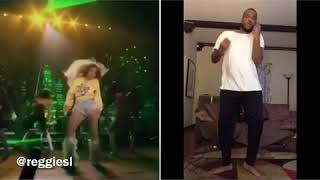 Me doing side by side Beyonce at Coachella performance hope you guy...