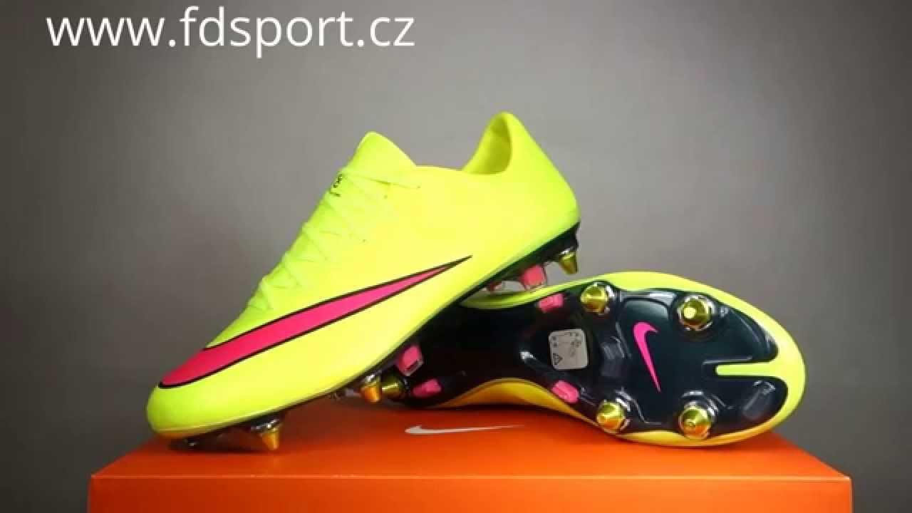 3612fbf7c Fotbalové kopačky Nike MERCURIAL VAPOR X SG-PRO 648555-760 - YouTube