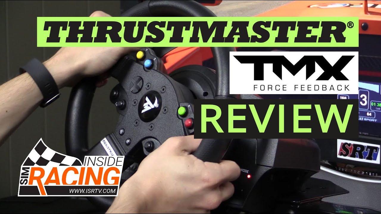 Thrustmaster TMX Racing Wheel Review | Xbox One Racing Wheel Pro