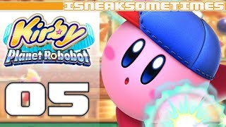 Kirby Planet Robobot - Area 2: Resolution Road! - Episode 5 (All Code Cubes)