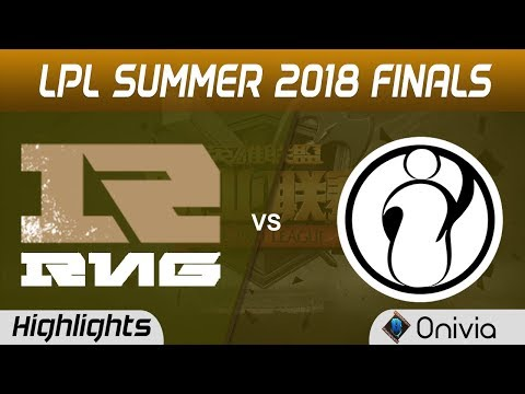 RNG vs IG Highlights Game 5 LPL Summer Finals 2018 Royal Never Give Up vs Invictus Gaming by Onivia