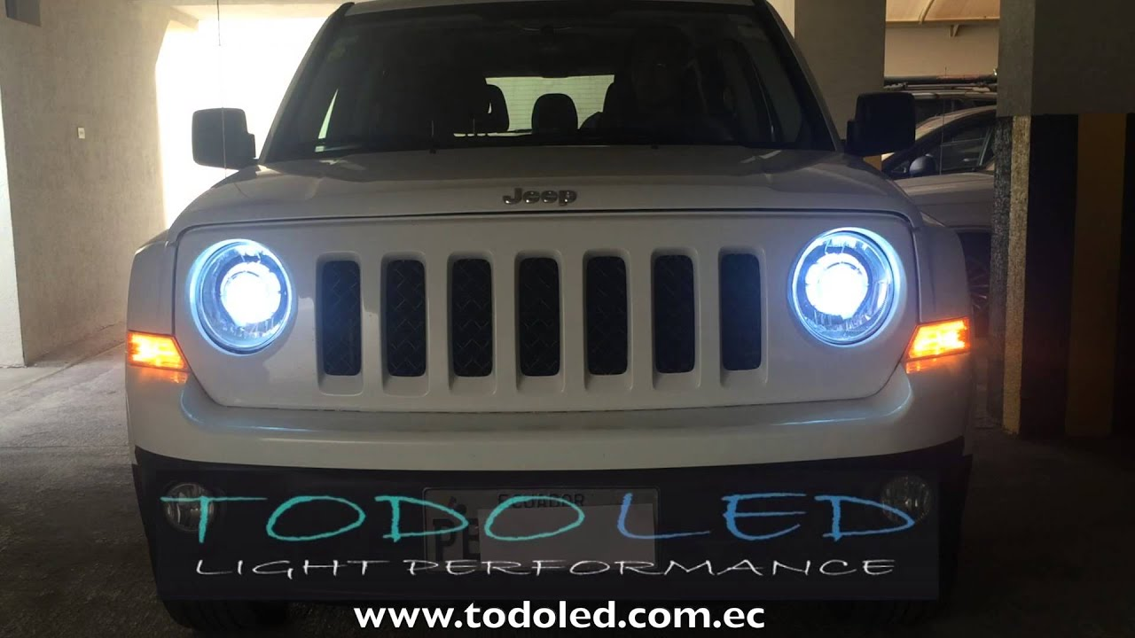 Retrofit Headlights Led Jeep Patriot