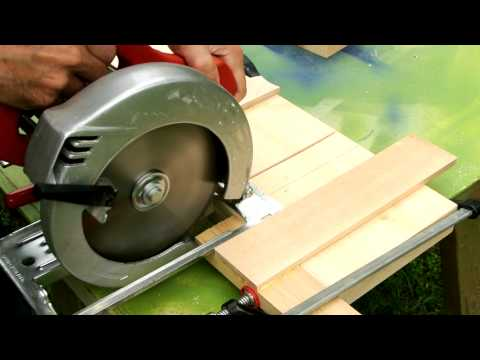 Make Dado Joints with a Circular Saw Instead of a Table Saw