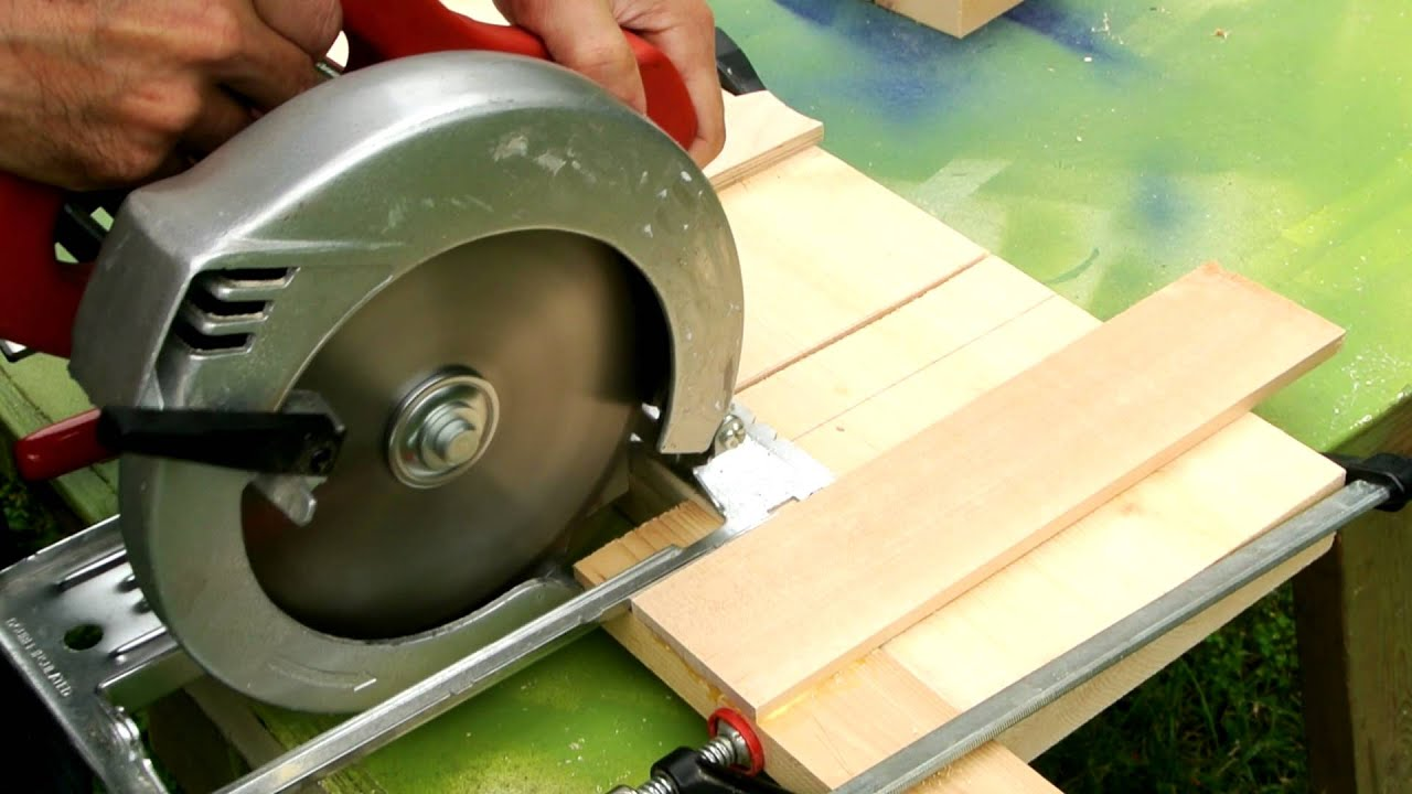 Dado cuts with a circular saw youtube greentooth Gallery