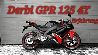 Meine 125er | DERBI GPR 125 4T - Das Urteil