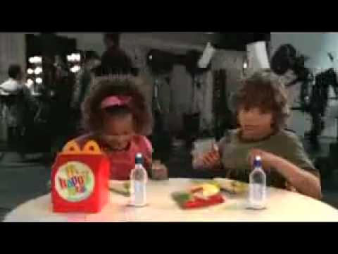 Alvin And The Chipmunks The Squeakquel Mcdonald S Commercial Youtube