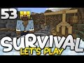 MASSIVE MINING QUARRY!!!  - Survival Let's Play Ep. 53 - Minecraft Bedrock (PE W10 XB1)