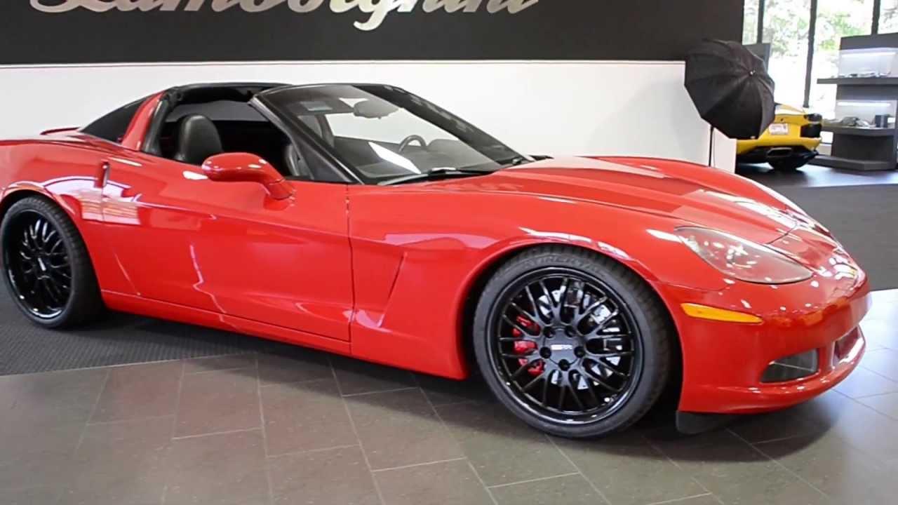 Red Corvette C6 >> 2007 Chevrolet Corvette Victory Red LT0533 - YouTube