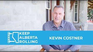 Kevin Costner Keeps Alberta Rolling