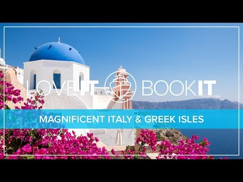 Cruise TV - Magnificent Italy & Greek Isles