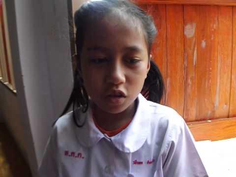 นักเรียน ชั้น ป.4/2 แนะนำตัวเป็นภาษาอังกฤษและไทย 2 โรงเรียนหฤทัยคริสเตียน