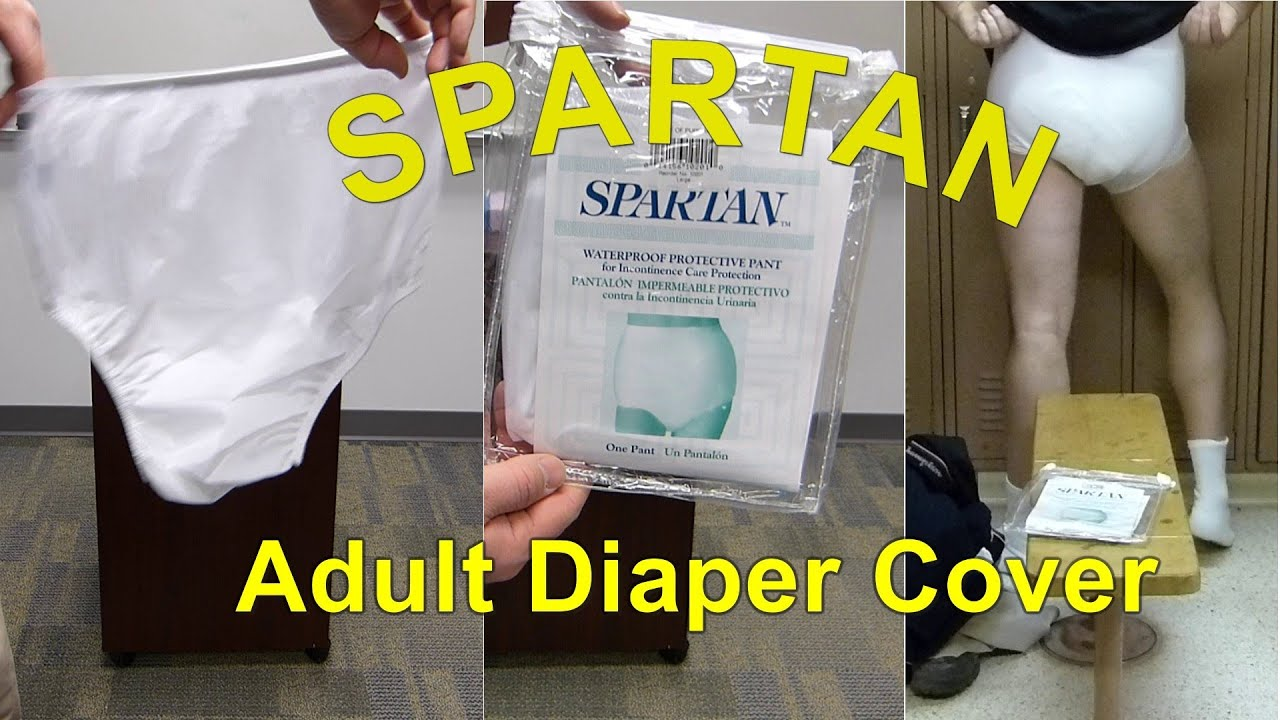 Amazoncom: plastic adult diaper covers