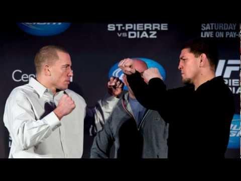 UFC 158 Promo #1 - Georges St-Pierre (GSP) vs Nick DIAZ (Good Trailer)