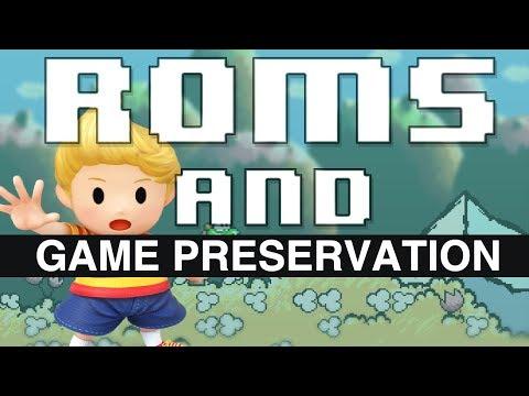 ROMS And Game Preservation  // HeavyEyed