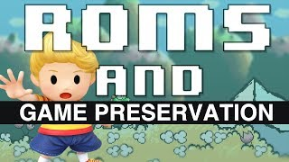 ROMS and Game Preservation  // HeavyEyed