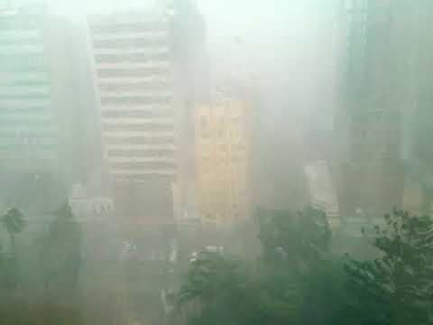 Temporal em 09/02 - Brasil, RS, Porto Alegre