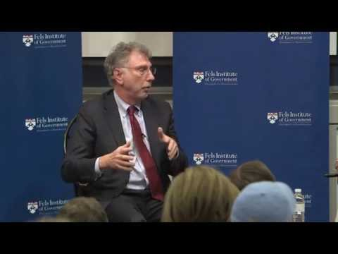Public Policy in Practice with Marty Baron, Editor of the Washington Post