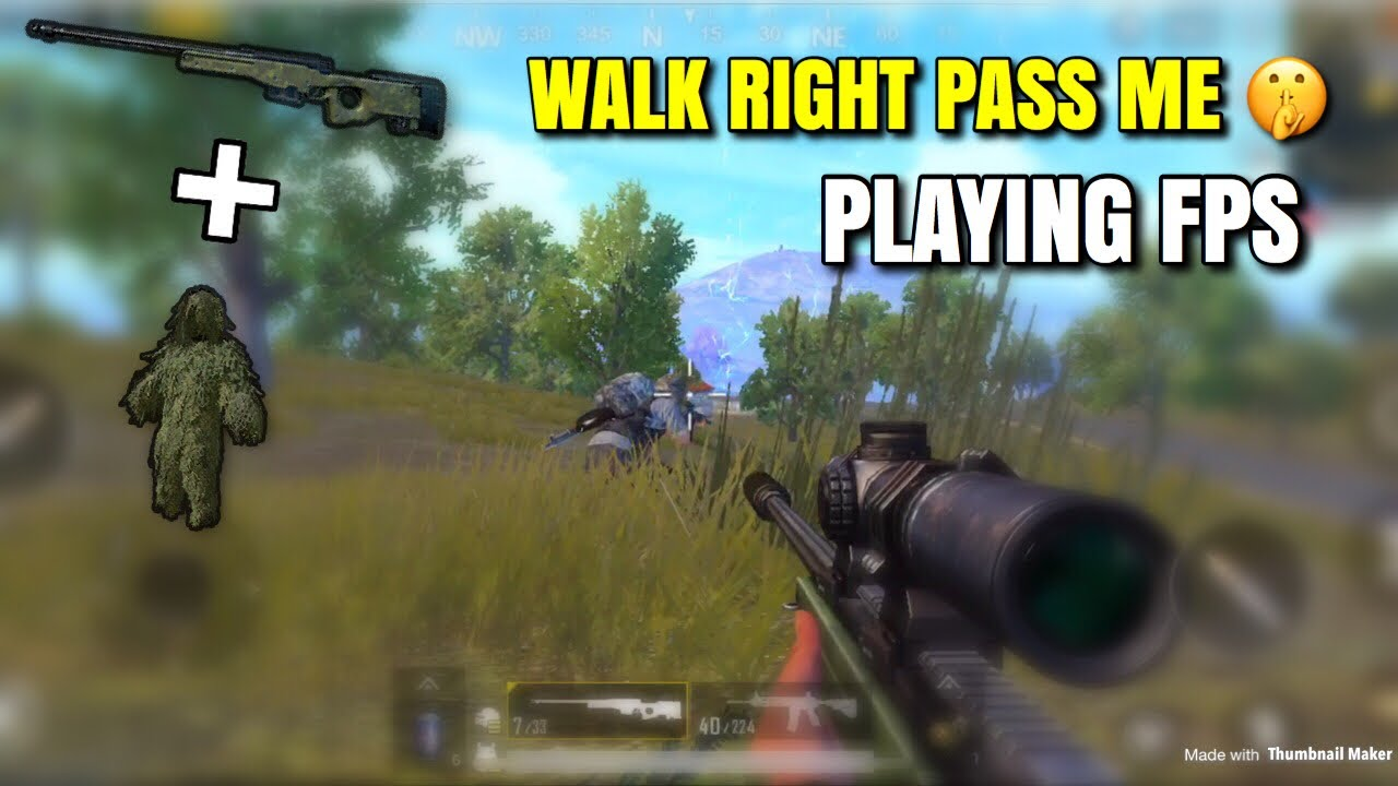 Hdr 60 Fps Pubg Mobile: Found The AWM Twice
