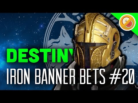 Destiny Iron Banner Bets #20 - The Dream Team (Exotic Wager)