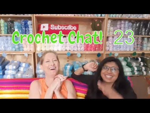 🔴(was a) Live Crochet Chat - 23