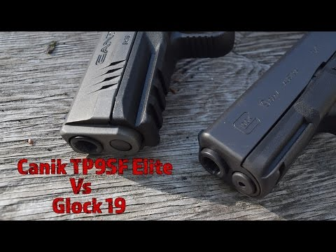 Glock 19 Vs Canik TP9SF Elite...New Striker Fired King In Town?