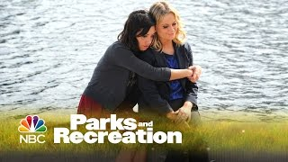 Parks and Recreation: April and Leslie's Heart to Heart thumbnail
