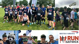 Run Gatwick Half Marathon 2018 Inaugural Race