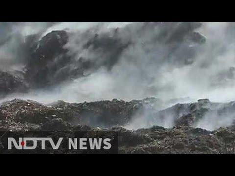3-week fire burns at Delhi garbage dump, green panel sends notice