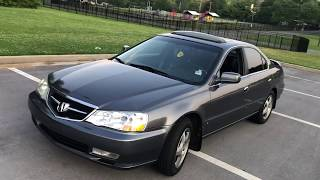 2003 Acura TL 3.2.  Quarter million miles Owner review test drive