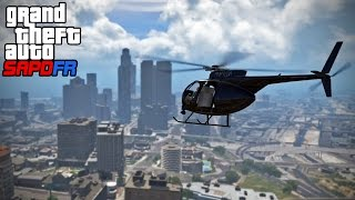 GTA SAPDFR - DOJ 122 - Air One (Law Enforcement)