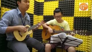 Mùa xuân ơi - hòa tấu guitar ukulele