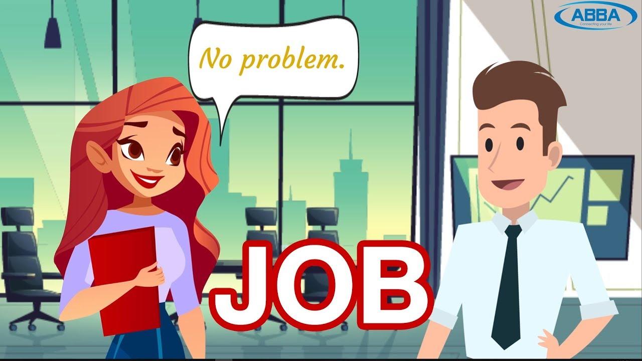 Conversation English Topic Job - Job Interview - YouTube