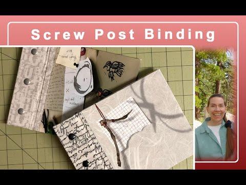 Screw Post Scrapbook Binding