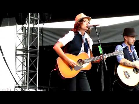 Brandi Carlile - Closer to you/I've just seen a face: Day 2 DMB Caravan NYC 9.17.11