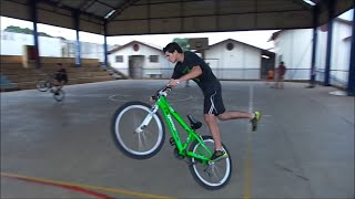 Bike Arte e Domínio - Manobras de Wheeling Bike Episódio 4